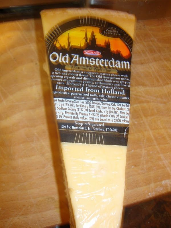 Trader Joe\'s Old Amsterdam aged Gouda. This was not the best among ...