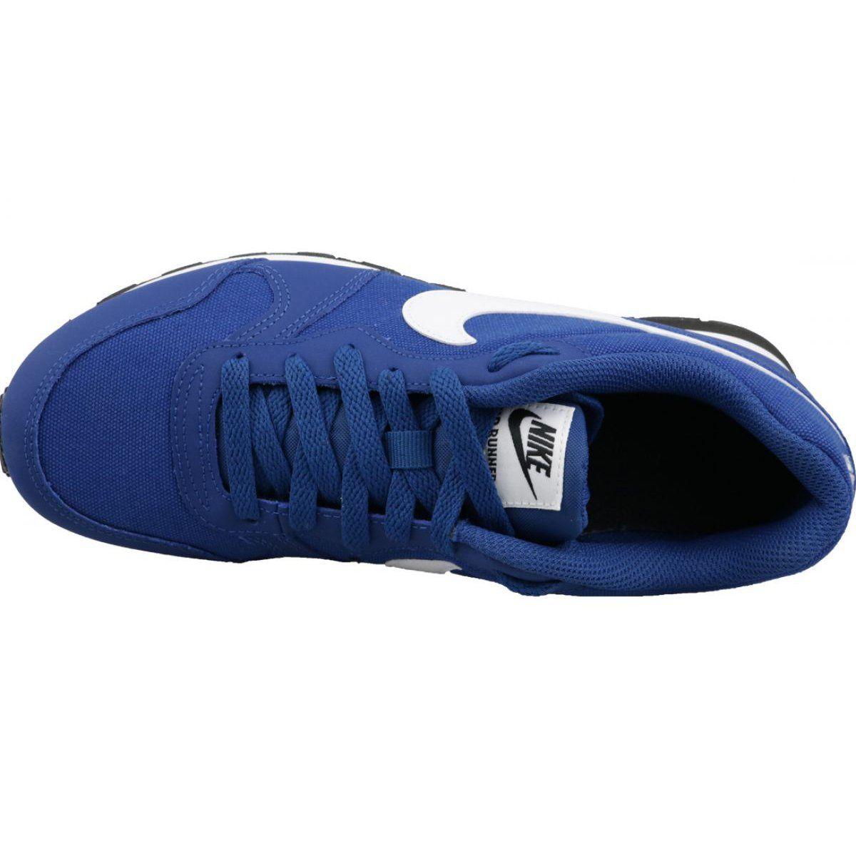Nike Md Runner 2 Gs Jr 807316 411 Shoes Blue Nike Shoes Women Blue Shoes Nike