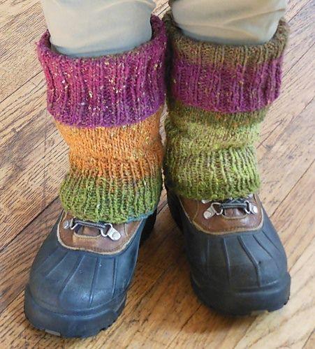 Ravelry: Easy Fitted Leg Warmers pattern by Lesbian Housewyfe | Knit ...