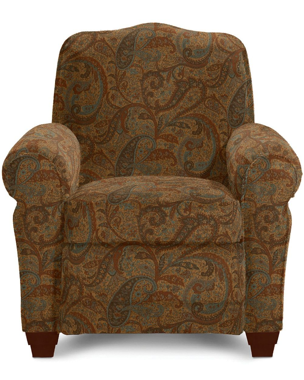 A New Tradition In Comfort The Faris Recliner Has A High Fashion Look That Lets You Relax In Style Detailed With Curvy Roll Arms Chair Wooden Dining Room Chairs La Z Boy