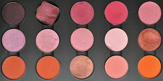 MAC Eyeshadow Palettes: Permanent Eyeshadows (April 2010)   MAC