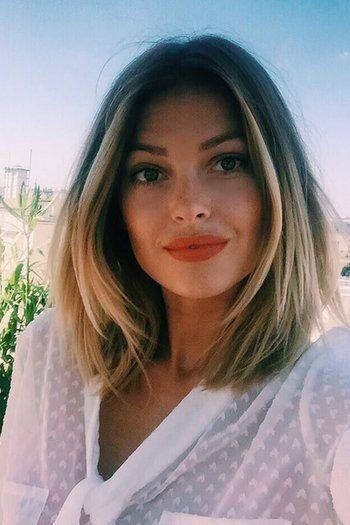 Caroline Receveur En Guerre Contre Les Dragueurs Coiffure Courte Coiffure Cheveux Carre Long