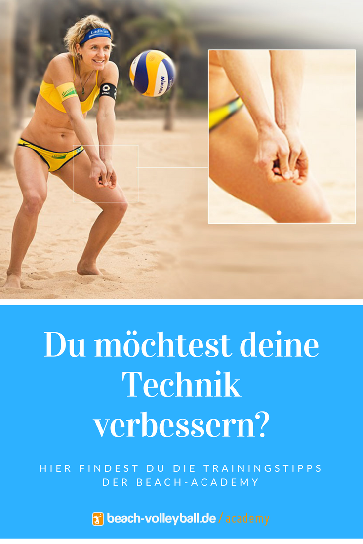 Beachvolleyball Trainingstipps Technik Profitipps Beachacademy Training Krafttraining Volleyball Beach Volleyball