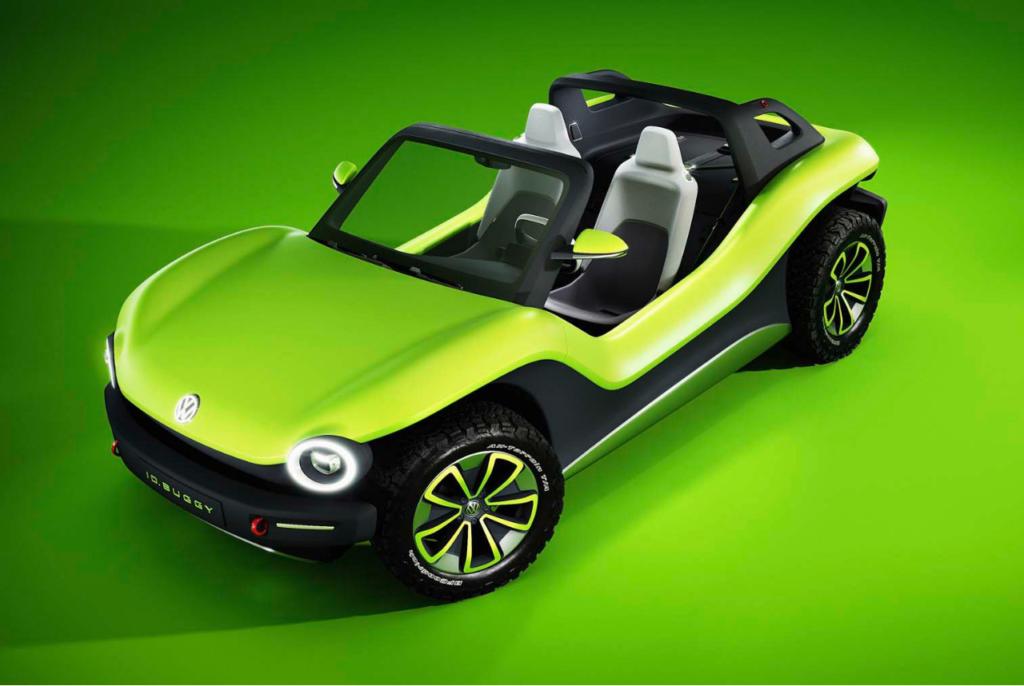 Vw I D Buggy Concept Is One Playful Ev Men S Gear Buggy Mens Gear Volkswagen