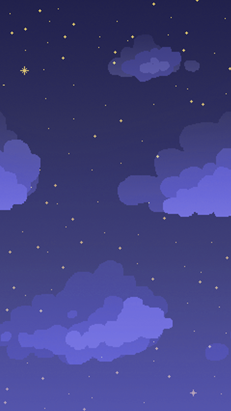 Pixel Art Phone Wallpapers Wave Aesthetic Pastel Animal Crossing Connect Aesthetics Clouds Doodles