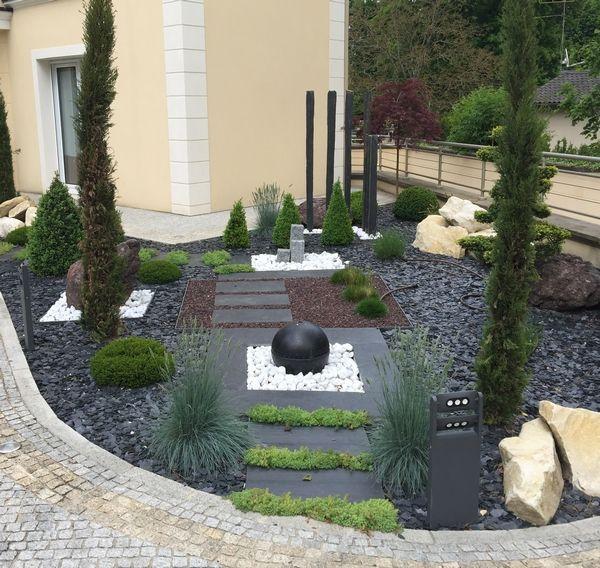 image associe - Jardin Paysager Avec Galets