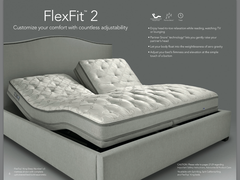 Sleep Number FlexFit 2 Adjustable Base Like New in 2020