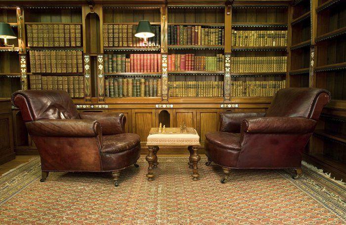 Bureau Bibliothèque, Deco Bibliotheque Et Idée
