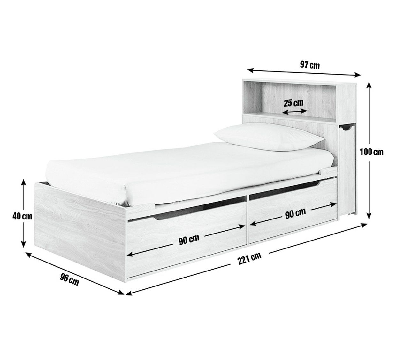 Buy Argos Home Lloyd Oak Effect Cabin Bed Headboard Storage Kids Beds Argos Ideas De Cama Diseno De Cama Muebles De Dormitorio Modernos