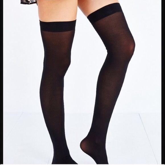 2eee4c10de5 NWT Urban Outfitters Super High Thigh High Tights NWT UO super high thigh  high tights.