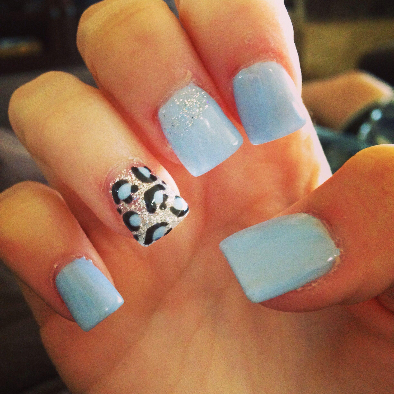 Leopard nail art. Gel paint! Love them! | nails | Pinterest ...