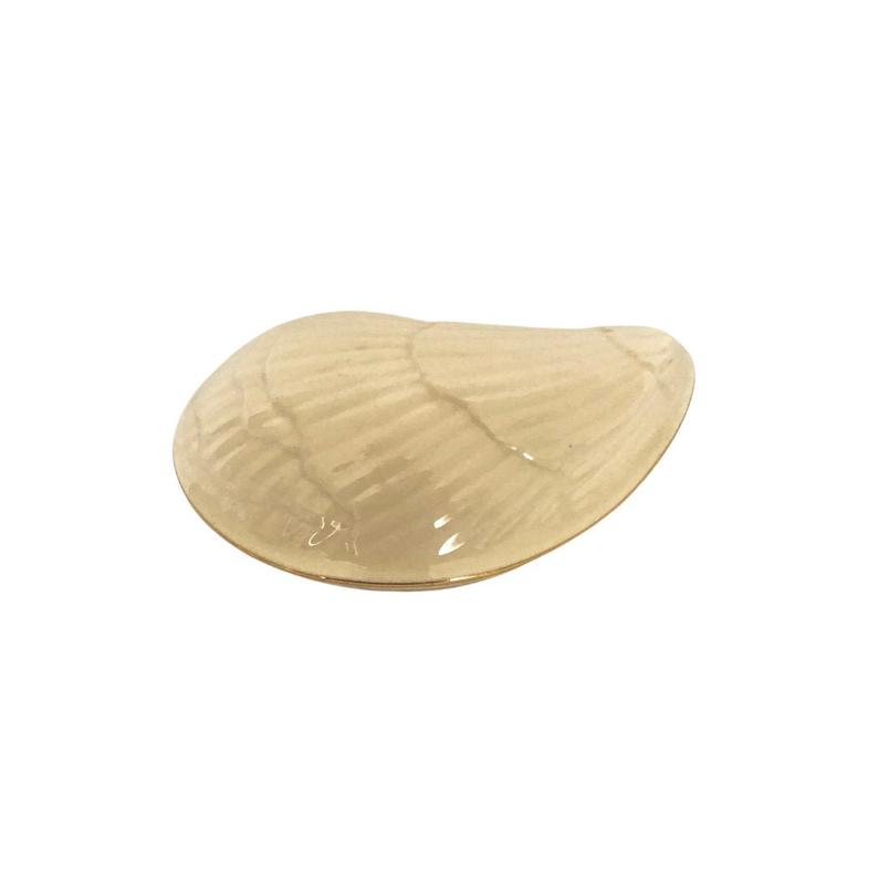 Lenox Aegean Shell Stamped Trinket Box