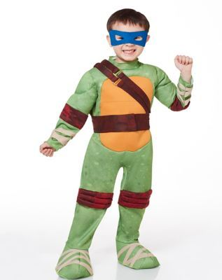 TMNT Leonardo Muscle Toddler Costume  sc 1 st  Pinterest & TMNT Leonardo Muscle Toddler Costume | MINI | Pinterest | Toddler ...