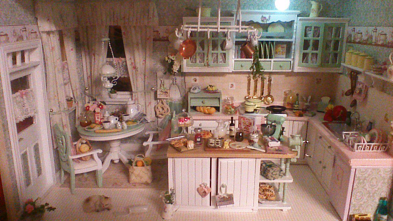 100 Dollhouse, miniatures kitchen, küche 10:102 miniatur-Ideen in