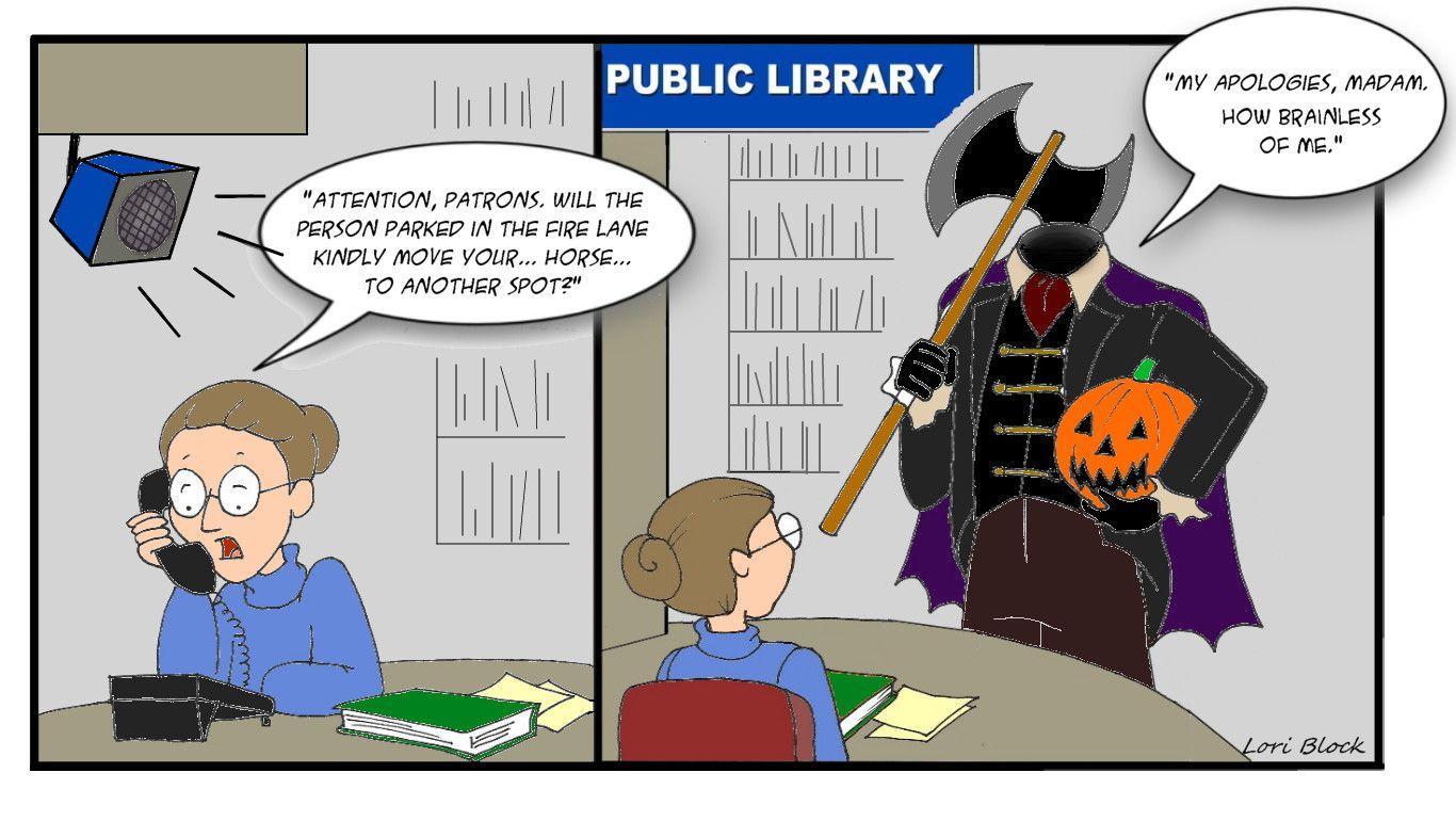 #CCJPL #headlesshorseman #librarycomics #headlesshorsemancomic #halloweencomic #comics