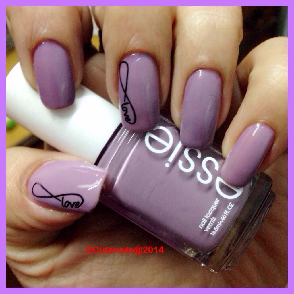 Love infinity nails | Mani\'s and Pedi\'s | Pinterest | Infinity nails ...