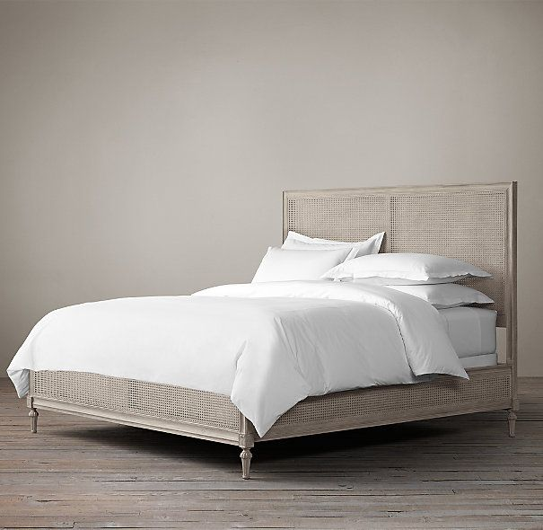 Maison Cane Bed without Footboard