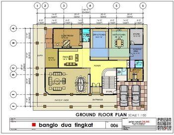 Galeri Pelan Rumah House Plan Gallery