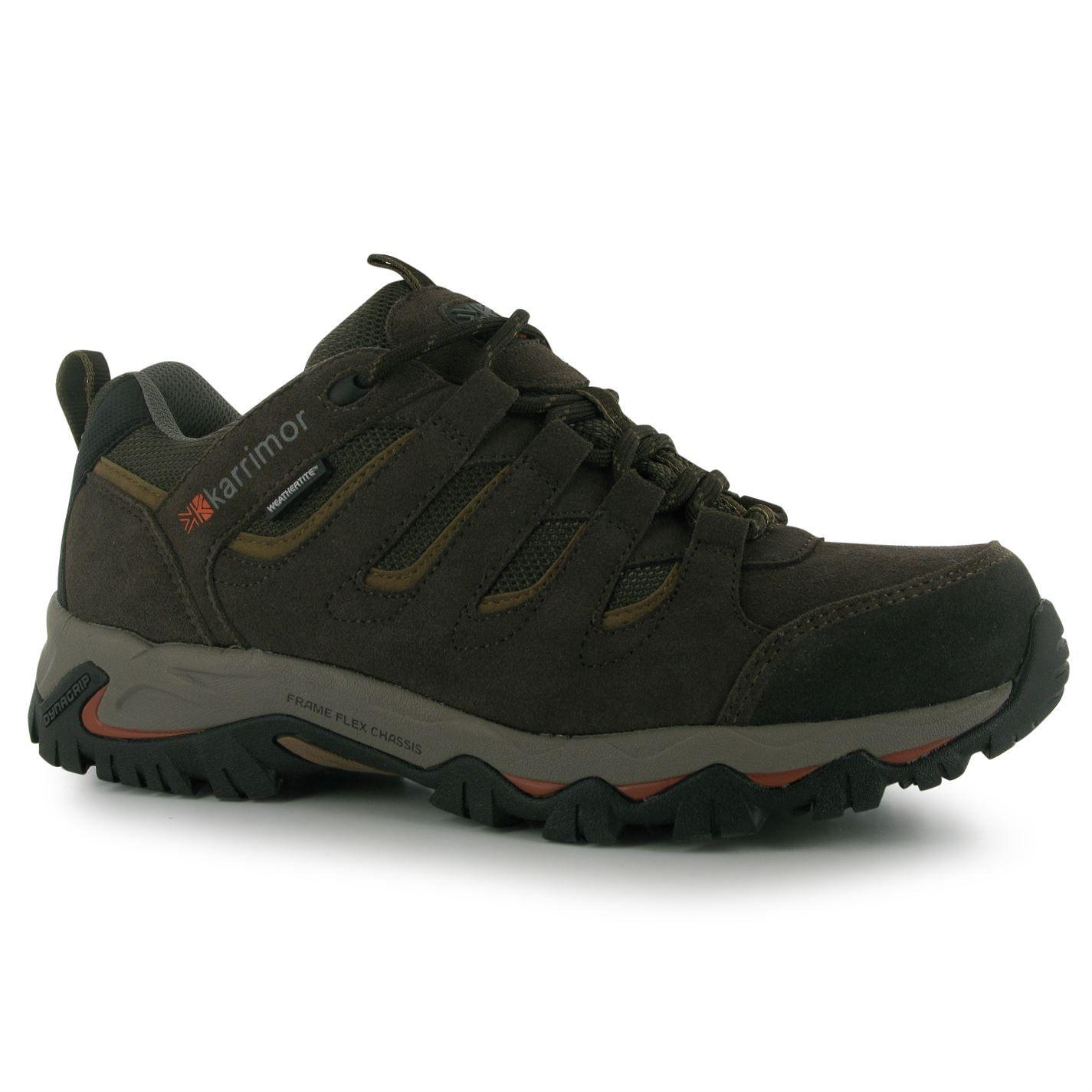 Karrimor Kids Mount Low Junior Walking Shoes Waterproof Lace