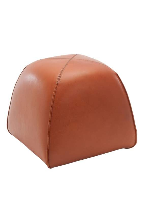 Product Image 1 | Leather stool, Leather ottoman, Ottoman
