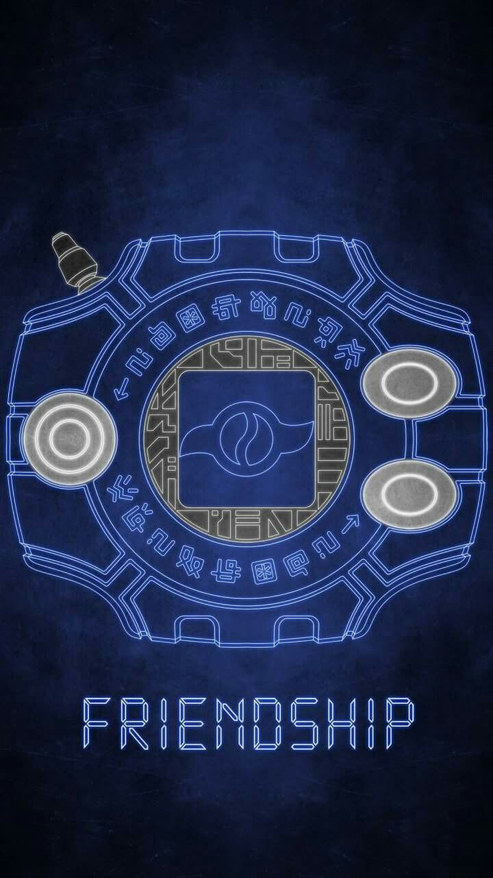 Digivice The Crest Of Friendship Rite In The Childhood