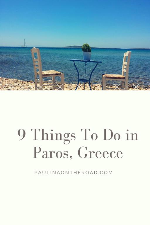 paros, greece, sport, what to do, tourism, food, restaurant, santorini, athens