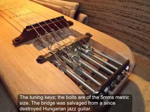 Diy Homemade Lap Steel Guitar Youtube Lap Steel Guitar Lap