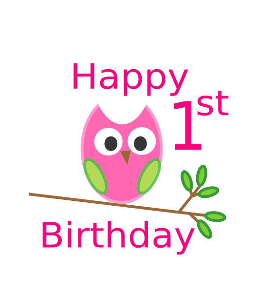 Happy 1st Birthday Cards Wishes Images Lines Messages