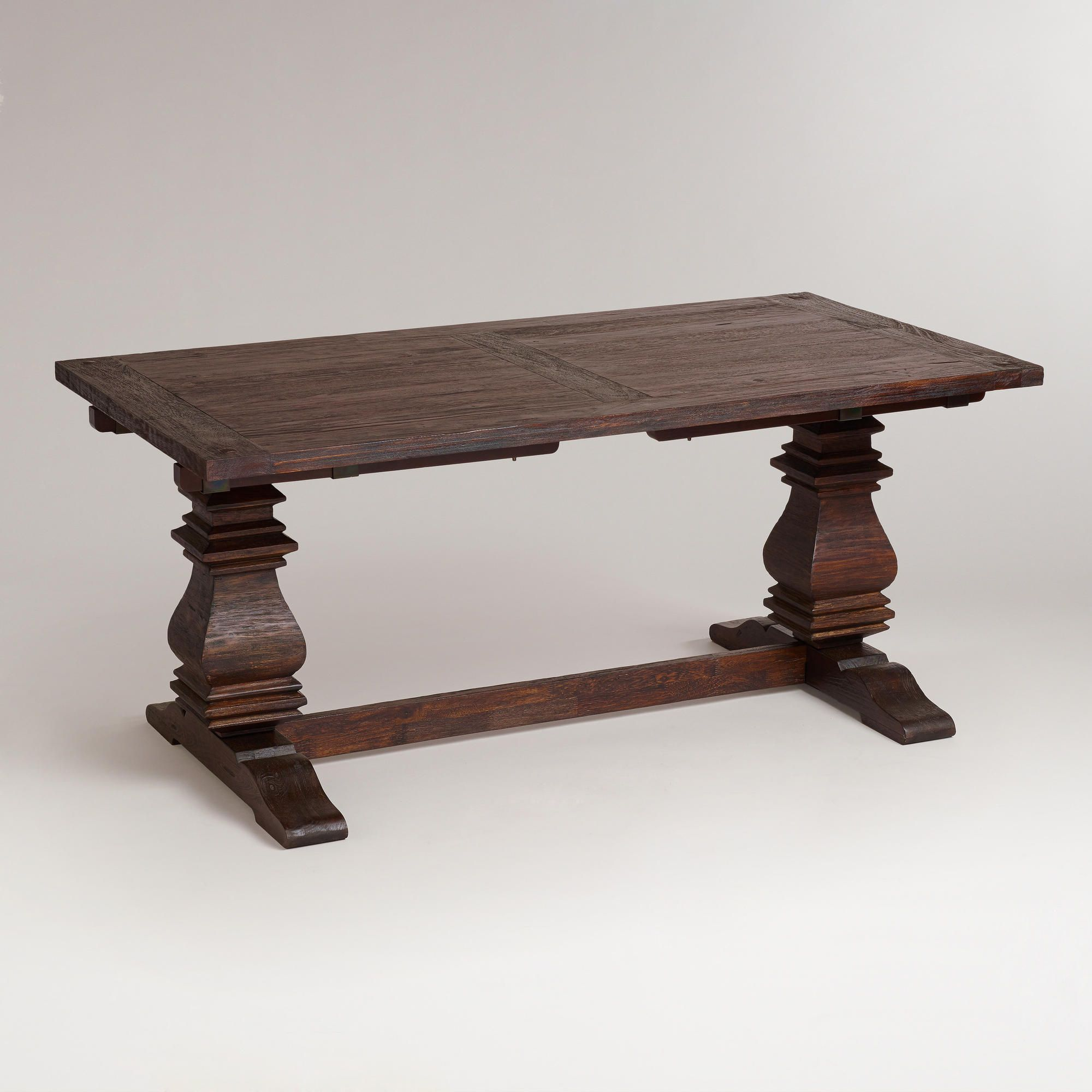 images about affordable dining tables on pinterest the family trestle table and furniture carmichael dining: extension table f