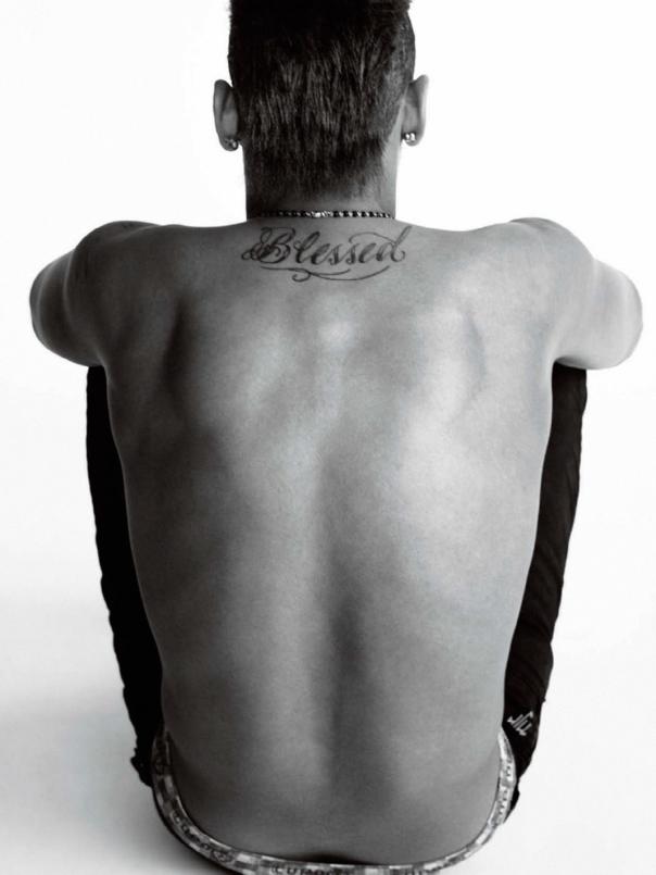 Neymar Tattoo 2014