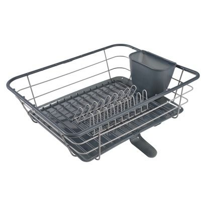 999ca39f7f5a Casabella Polypropylene Dish Drying Rack | dish drying rack in 2019 ...