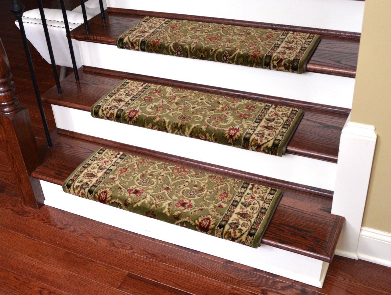 Dean NonSlip Tape Free Pet Friendly Stair Gripper Bullnose Carpet