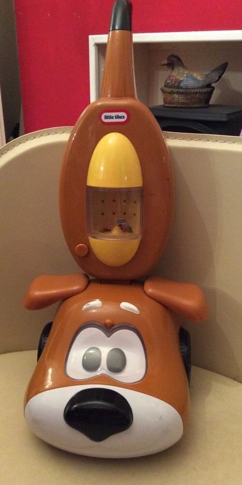 Little Tikes Mitts Puppy Dog Vacuum Cleaner Hoover Pre