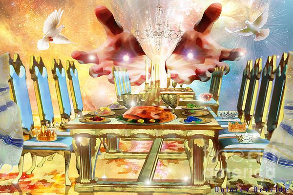 Image result for prophetic art Banquet table before us