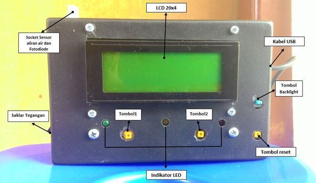 Monitoring System Of Water Quantity And Quality Of Turbidity Turbidity Laboratory Idea Raspberry Projects