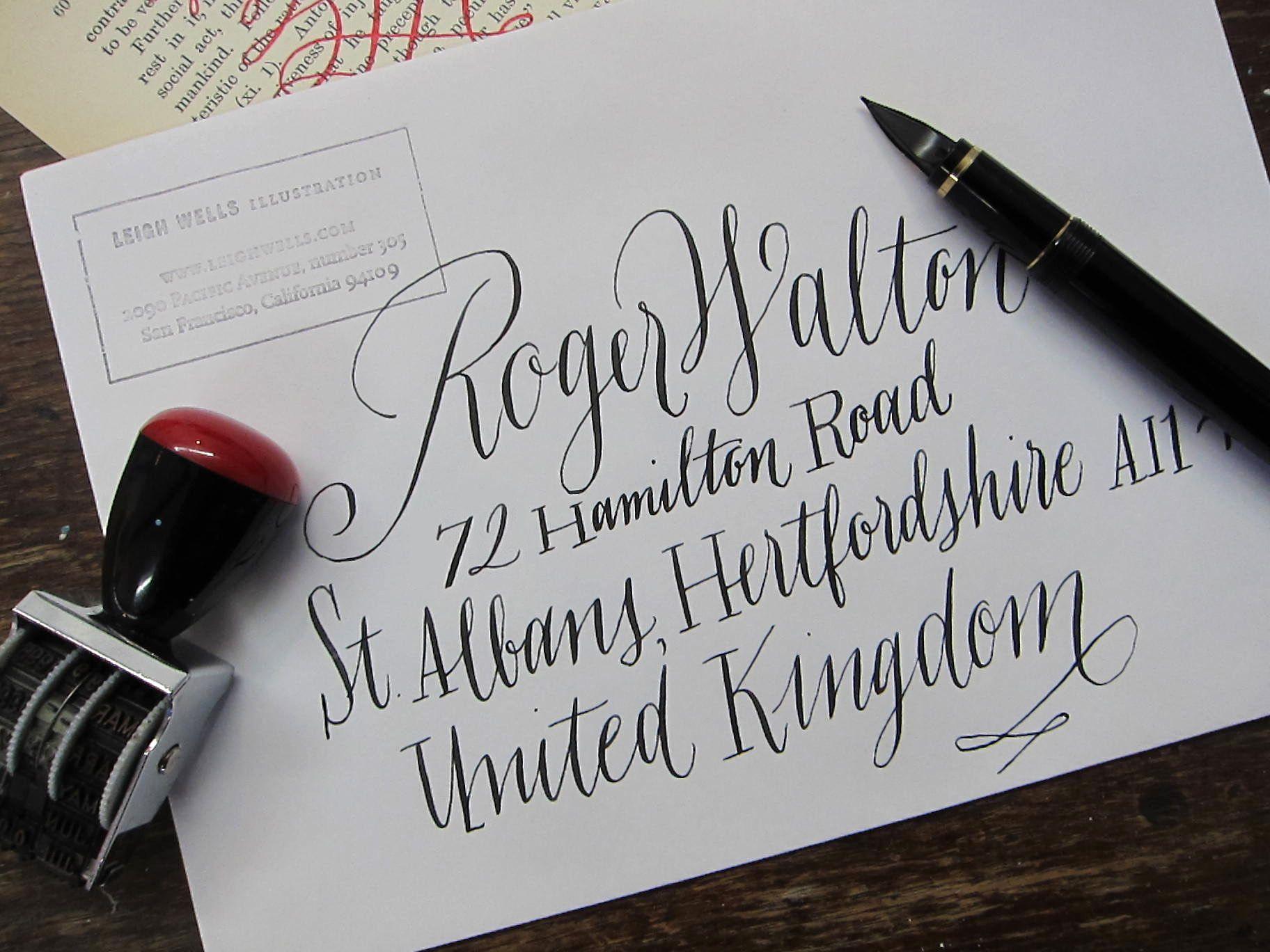 New style inkwells calligraphy specimens pinterest