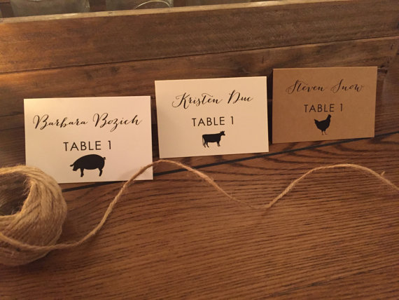 Wedding Escort Cards Wedding Place Cards Table Tents Name Cards - Wedding table tents
