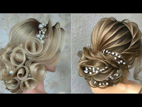 تسريحات شعر 2020 مذهلة للعرائس أفخم تسريحات شعر للعرائس 2020 تجعلهم ملكات جمال يوم زفافهم Youtube Hair Updos Ear Cuff