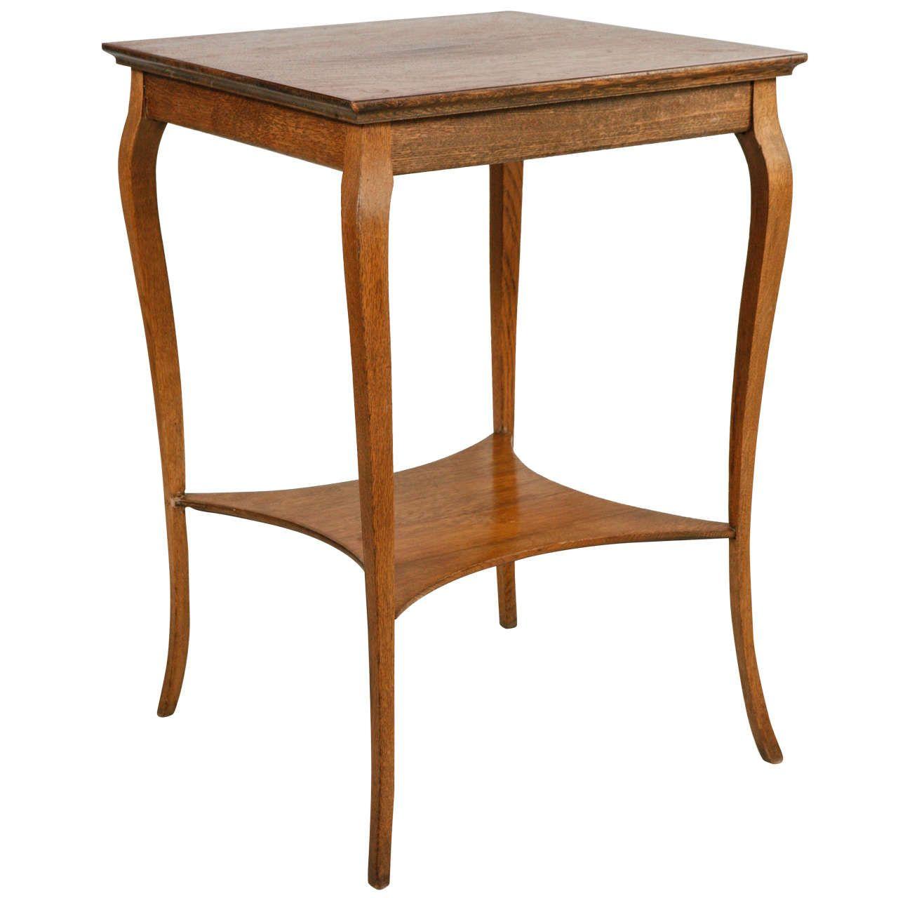designer fashion 7e910 21870 Tall Curved Leg Oak Side Table | Home | Table, Modern side ...