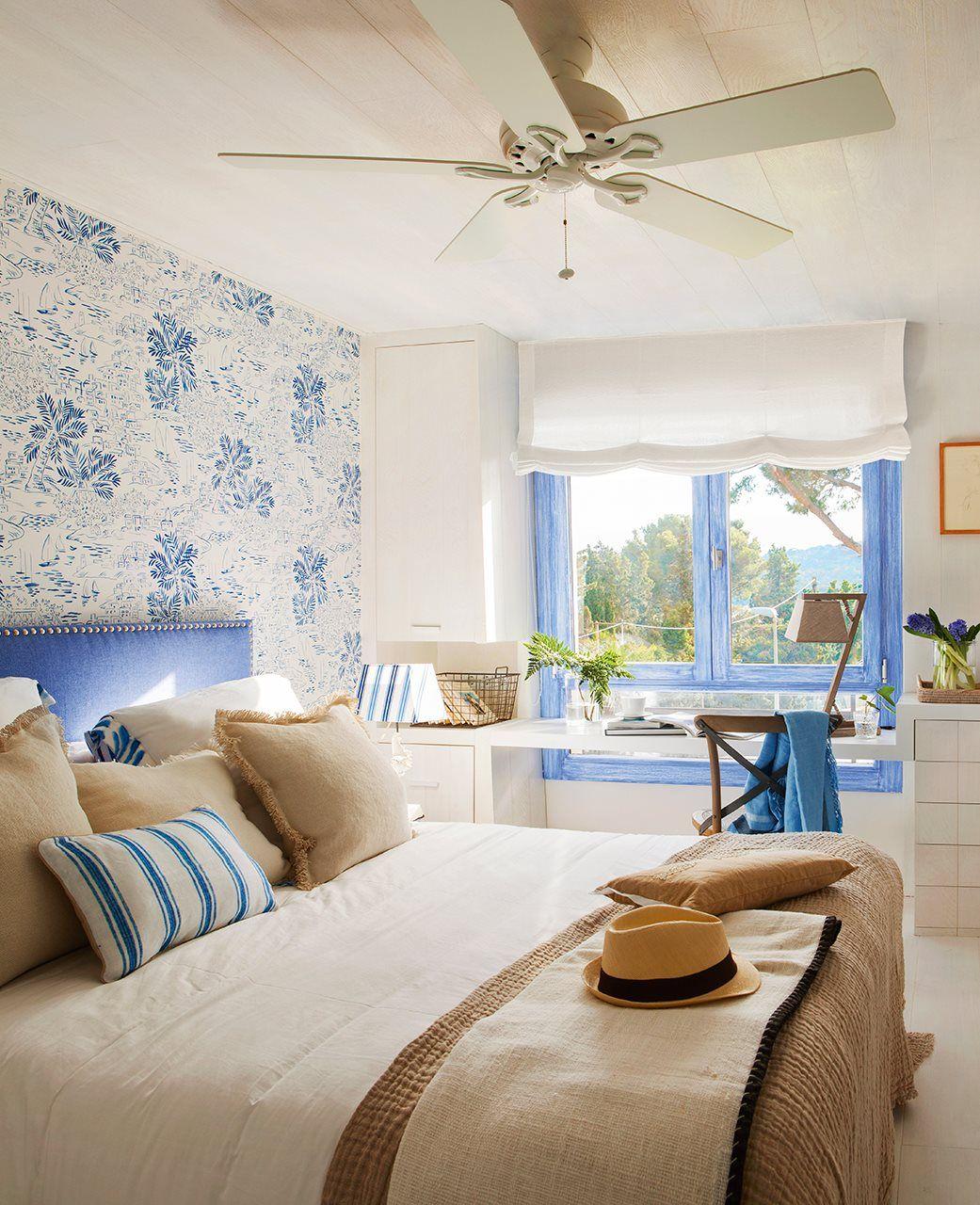 Cuando el verano es... Azul | Decora el dormitorio | Pinterest | El ...