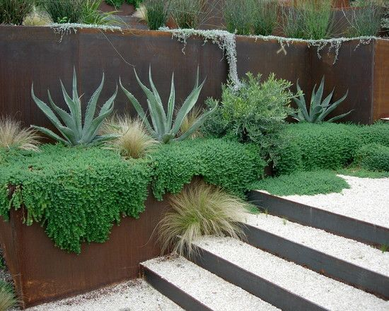80 retaining wall design ideas includes many chic creative drought tolerant options - Landscape Design Retaining Wall Ideas