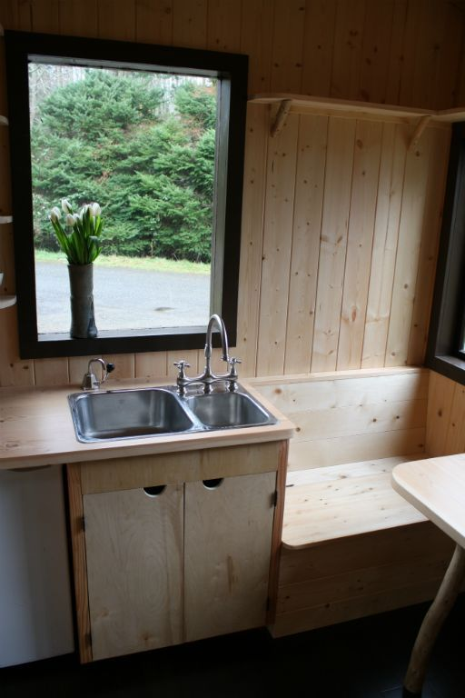 tiny house sink. Tonys Caravan Tiny House By Hornby Island Caravans 009 Sink O