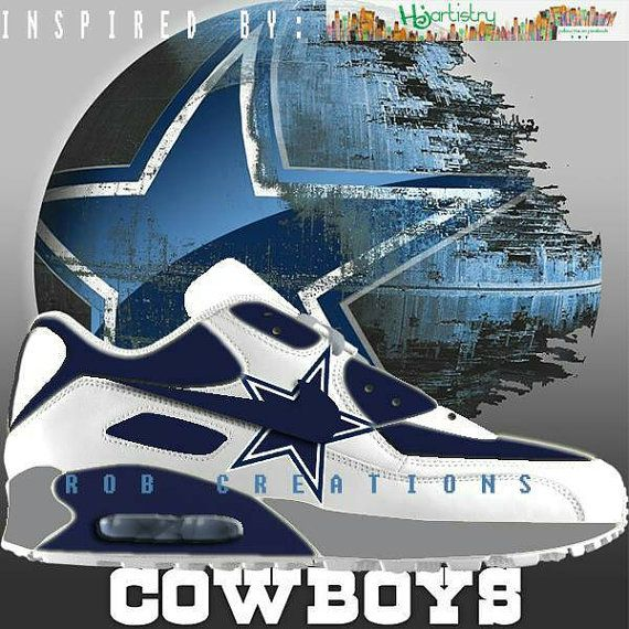 8dd8048463 ... low cost dallas cowboys custom air max 90 made to order by robcreations  aa8a1 74556