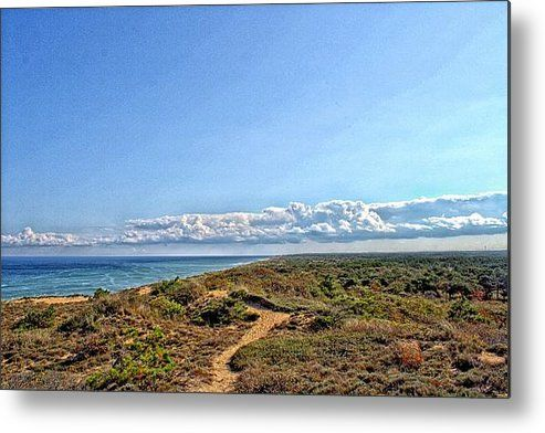 Marconi Station View Cape Cod Metal Print By Constantine Gregory