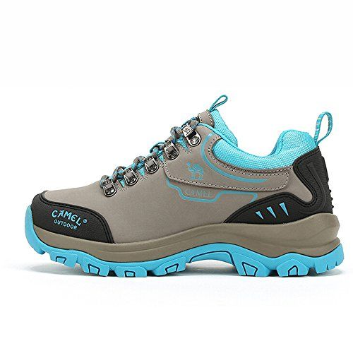 buy popular 6e306 b1305 Camel Womens Outdoor LaceUp Women s Walking Shoes Shoes Color GreyBlue Size  36 M EU   Read more at the image link.