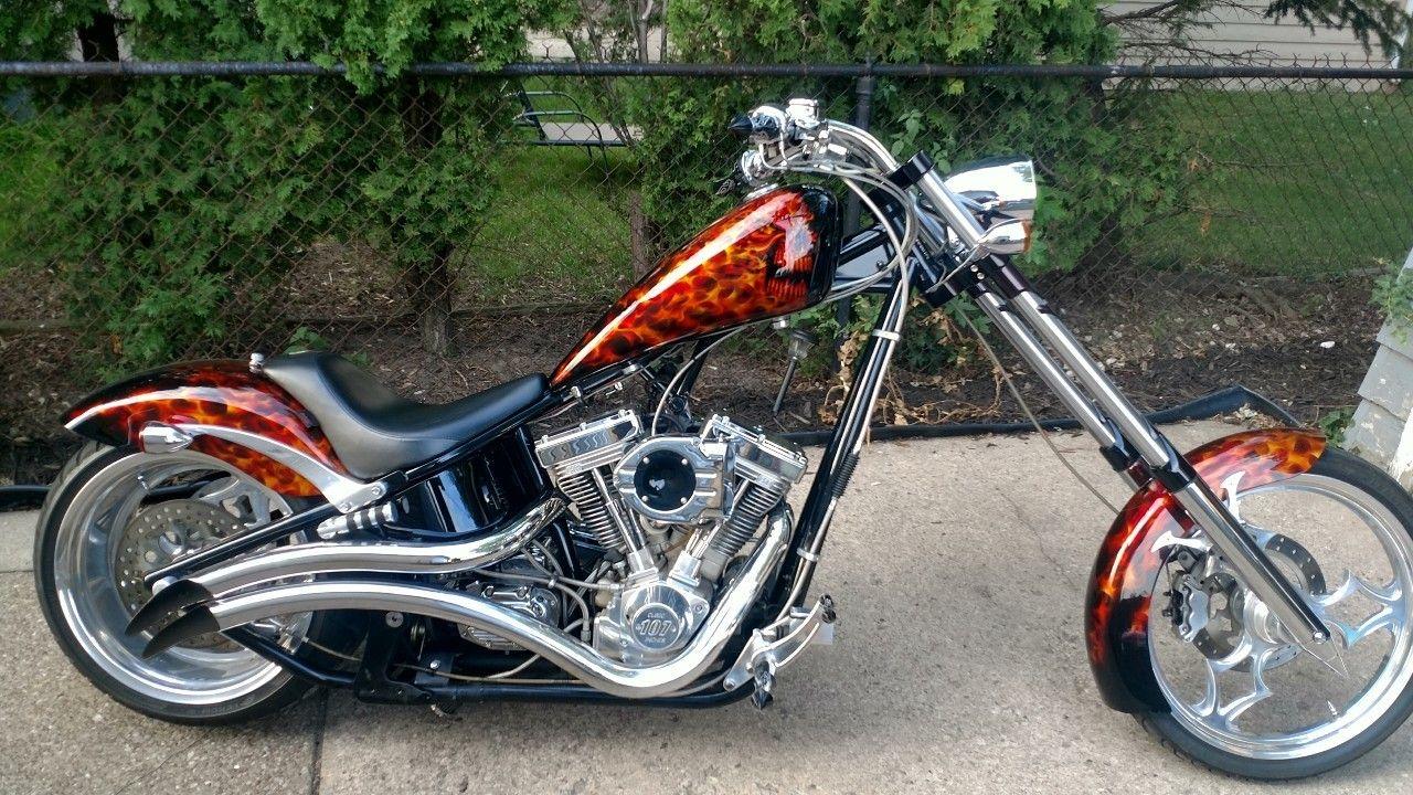 2003 Big Dog K9 Bike ride, Custom bikes, Custom chopper