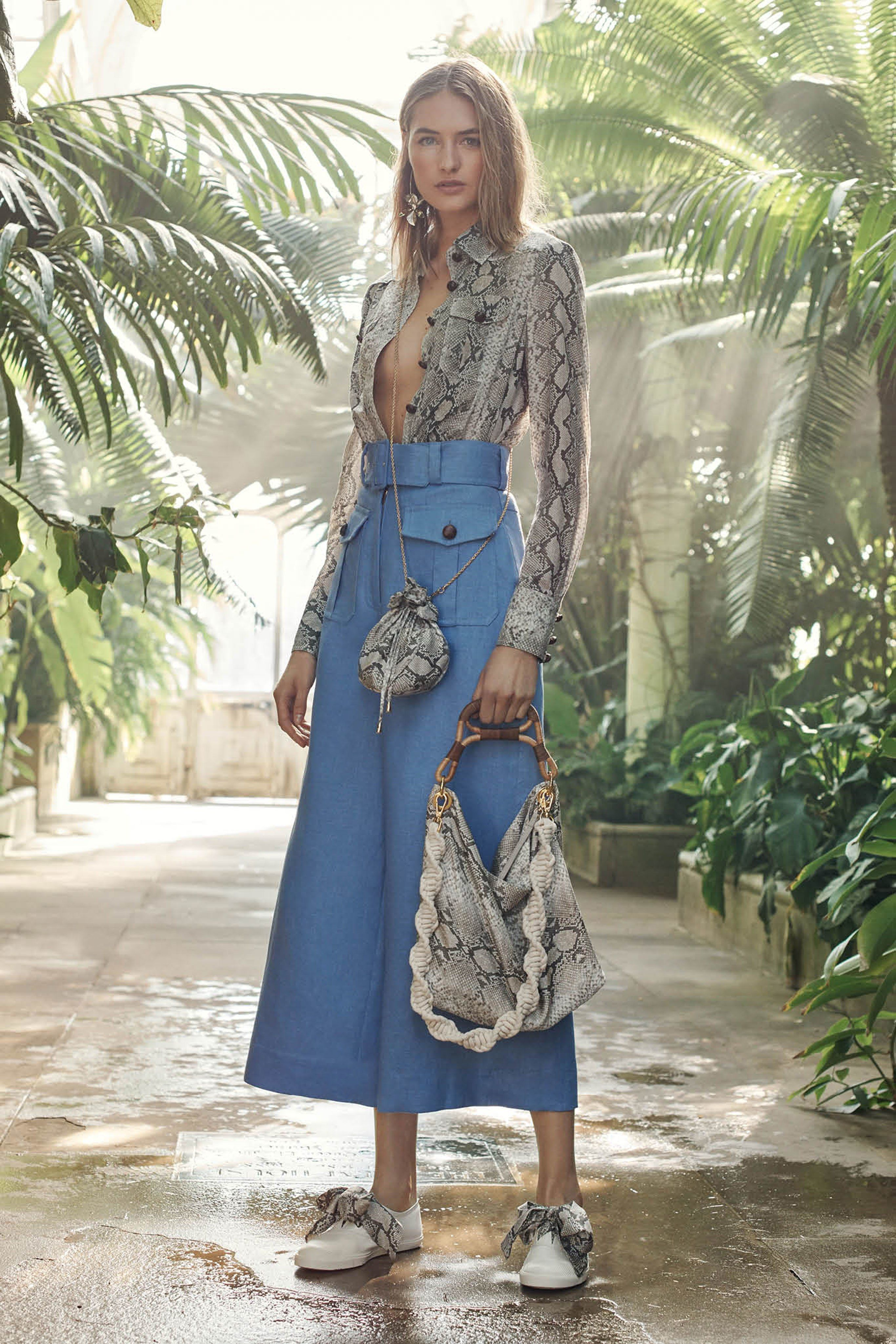 Zimmermann resort fashion show in style street smart