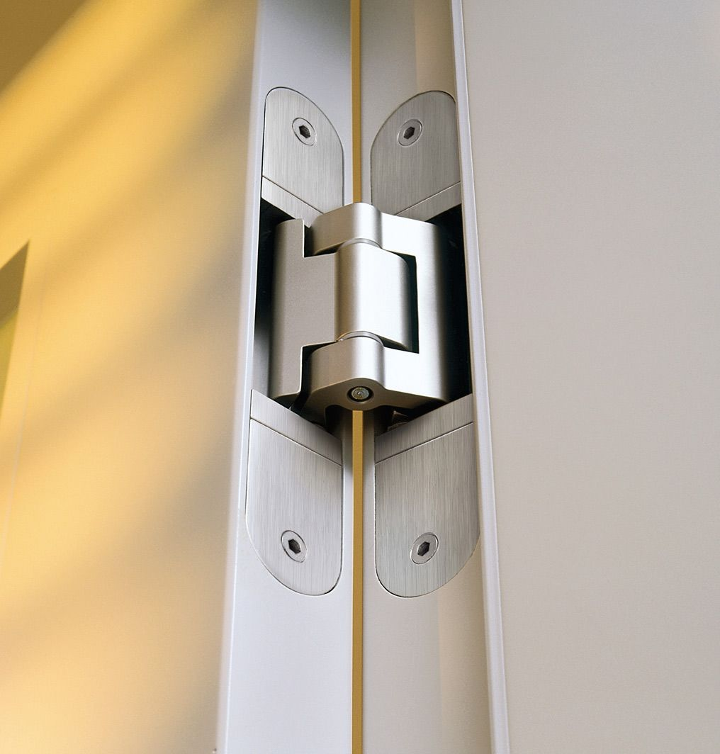 Tectus concealed hinges by simonswerk on designer pages - Hidden hinges for exterior doors ...