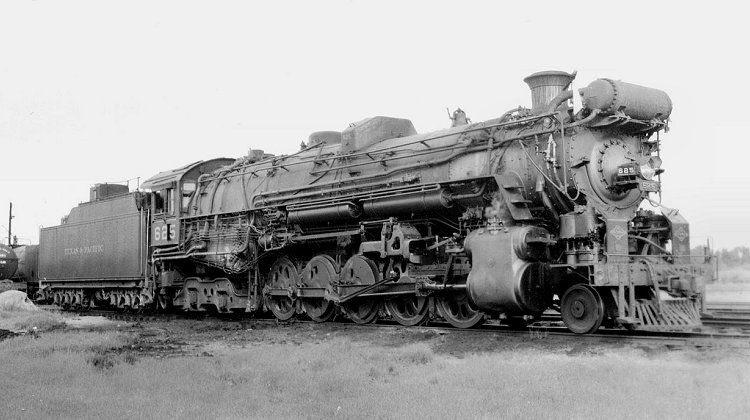 Richard Leonard S Random Steam Photo Collection Texas Pacific 2 10 4 625 Railroad Photography Vintage Train Railroad History