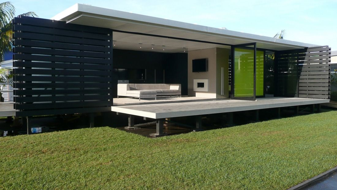 The ipad architex nz archipro home exterior - Architect designed modular homes nz ...